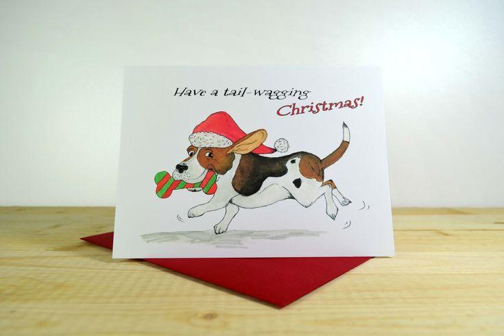 A Basset Christmas A7 (5x7)