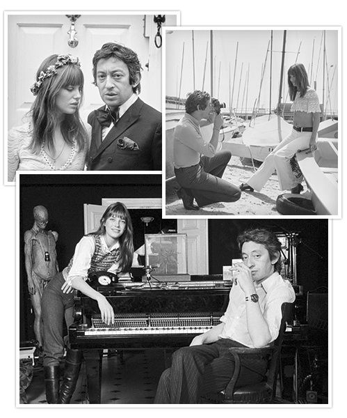 exposition photos 25 ans mort Serge Gainsbourg Jane Birkin couple 70s Melody Nelson 17