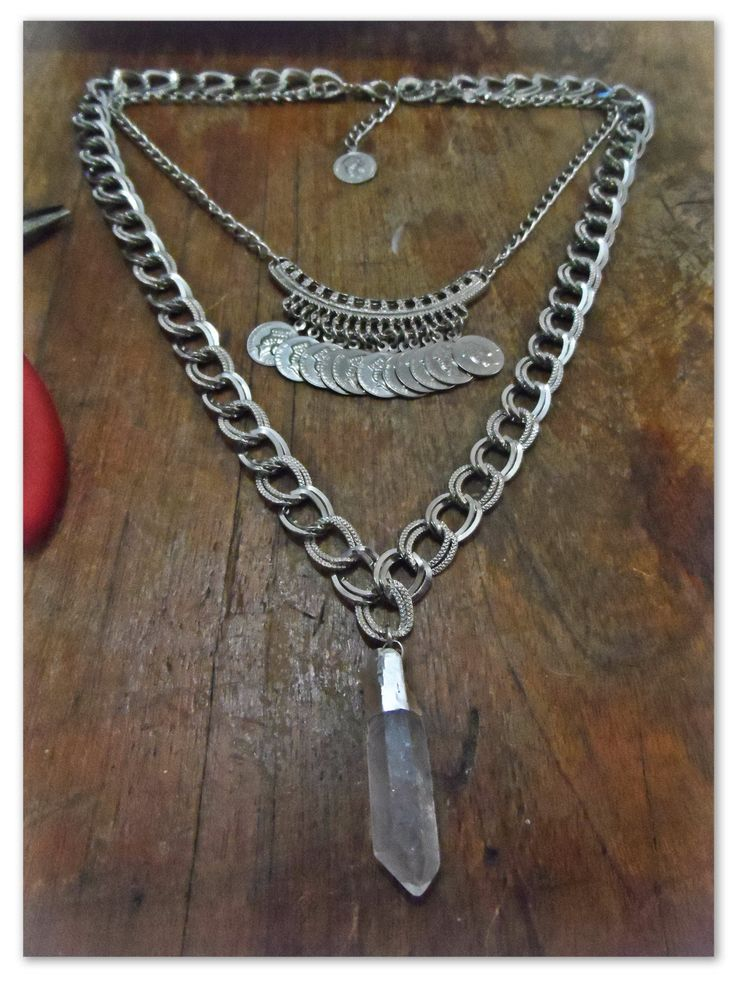 Collar Cuarzo Cristal <3