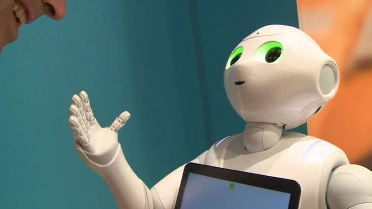 Meeting Pepper, the domestic robot (video)