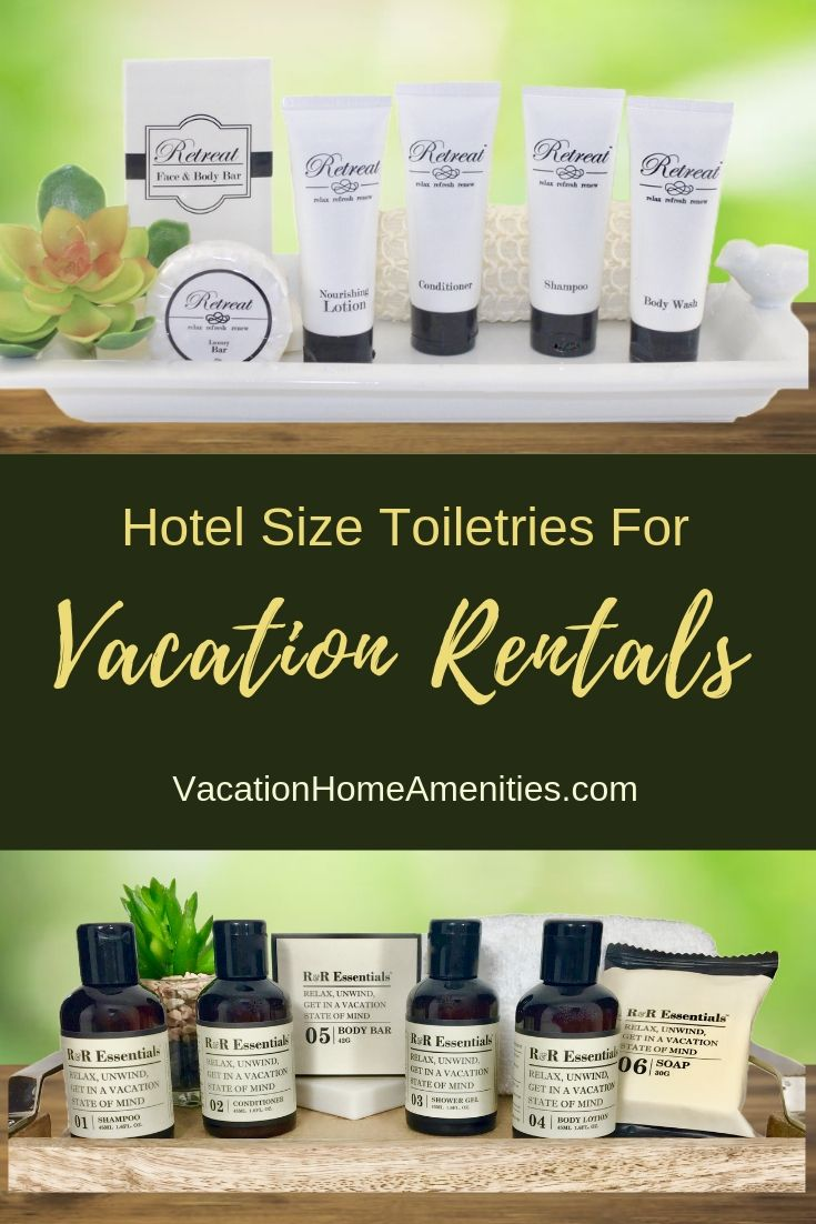 Luxury Hotel Size Toiletries Made Just For Vacation Rentals And Airbnb Hotel Toiletries Vacation Rental Toiletries