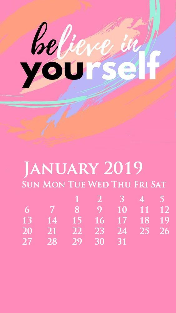 Iphone January 2019 Calendar Wallpaper Background Galore In 2019