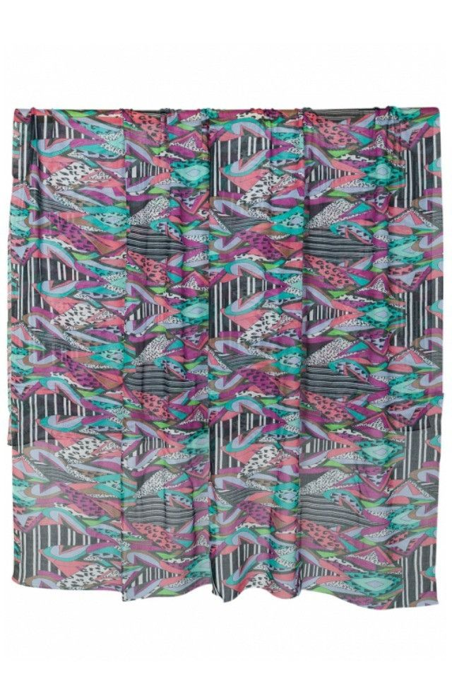 Front Row Society Scarf in Safari Remix