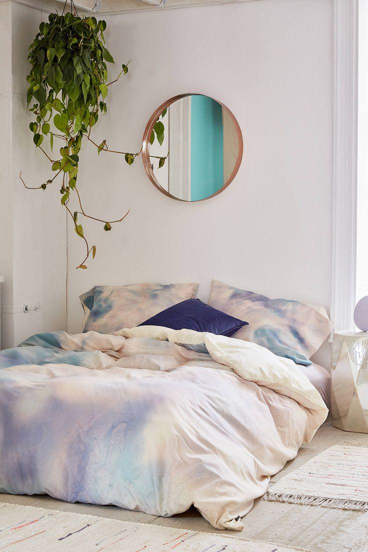 chelsea victoria for deny unicorn marble duvet cover