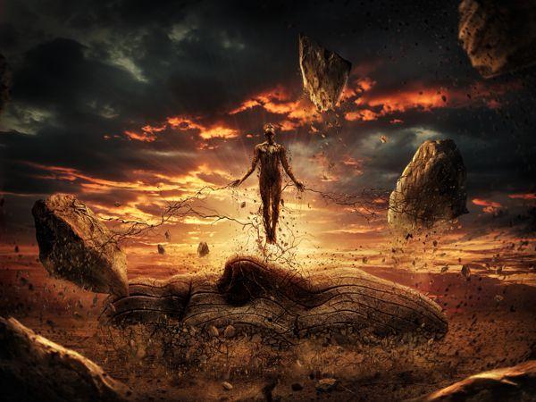 Jupiter Rising by Lewis Moorhead, via Behance