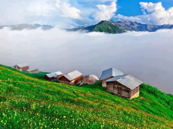 Rize Kaçkar Mountains, Turkey (Karadeniz region)