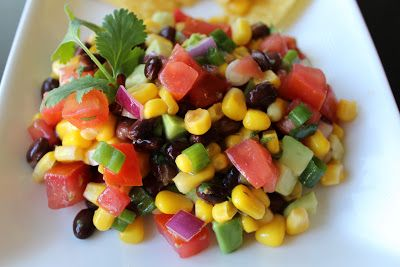 MOMMY ON DEMAND: Black Bean & Corn Salsa