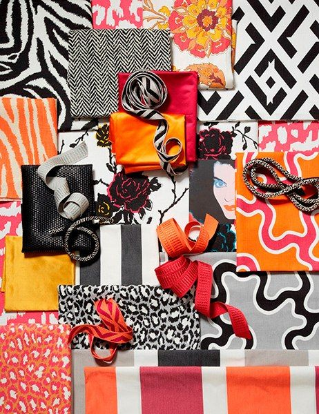 the diane von furstenberg for kravet collection includes fabric and trimmings