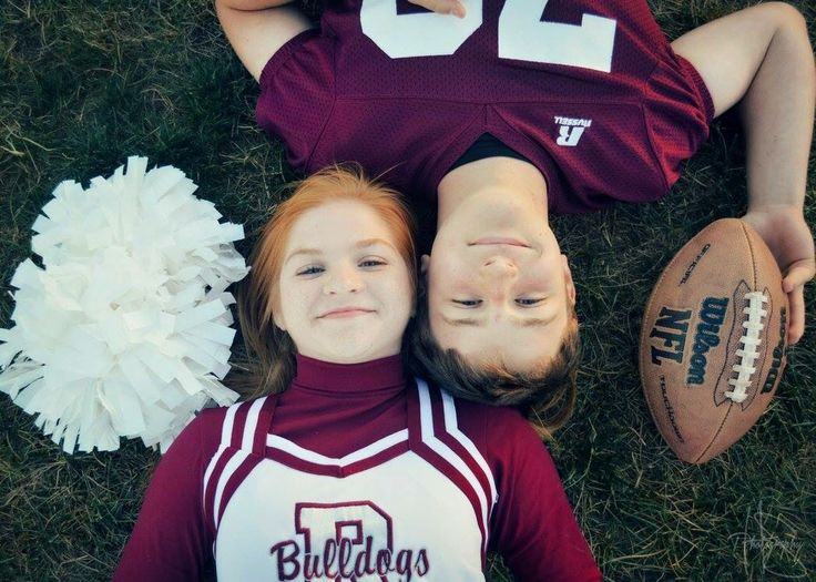 Football player, cheerleader, photography, Hannah Sue Photography, couples