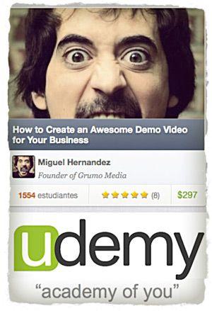 Udemy: Crear y Vender Tu Curso Online Nunca Fue Tan Fácil http://davidcantone.com/udemy/