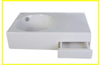 Left Hand Basin with Platform& Drawer (Auction ID: 2435, End Time : Dec. 31, 2015 00:44:22) - Australian Auctions Online $89