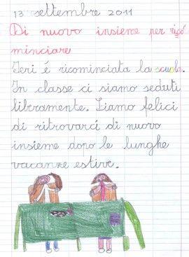 Quaderni di italiano classe seconda - MaestraSabry