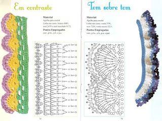 bordes para crochet revista gratis - Revistas de crochet y tejidos gratis