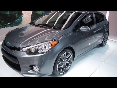 2014  KIA FORTE SX 5 DOOR HATCHBACK PRE-PRODUCTION PREVIEW video