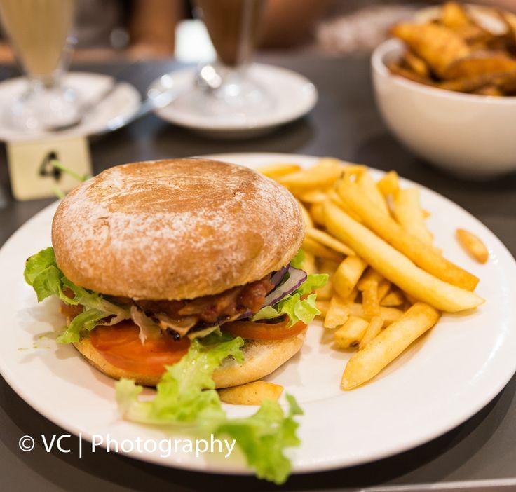 Chicken Burger@Cafe 34 Karrinyup