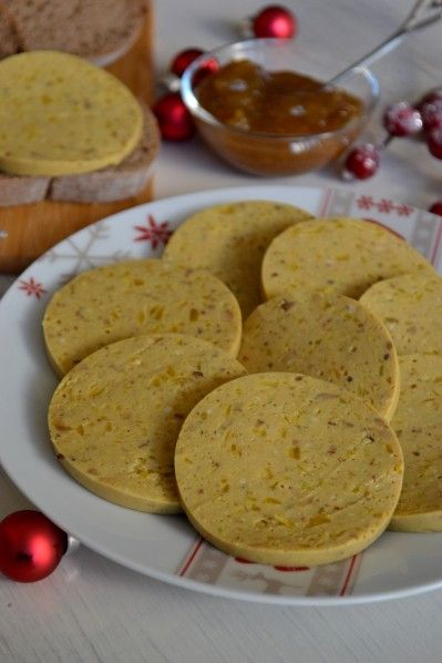 Faux Foie-Gras {Version Végétale pour Noël} #fauxgras #noël #fêtes #recette #végétal #vegan @ La Cuisine d'Anna & Olivia