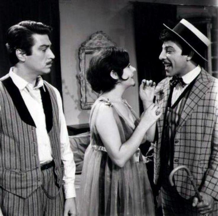 """Münir Özkul - Fatma Girik - Önder Somer """"Sürtüğün Kızı""""(1967) Yönetmen:Ertem Eğilmez"""