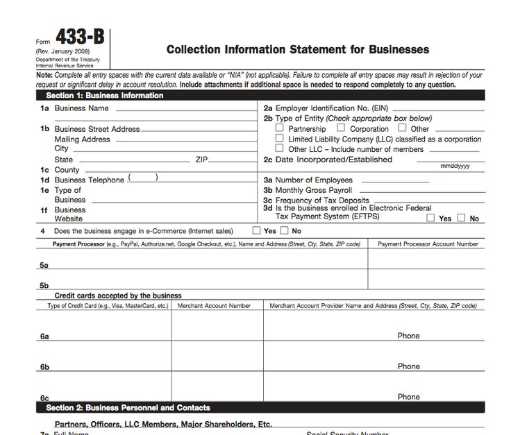 Statement Form In Pdf Personal Financial Statement Form