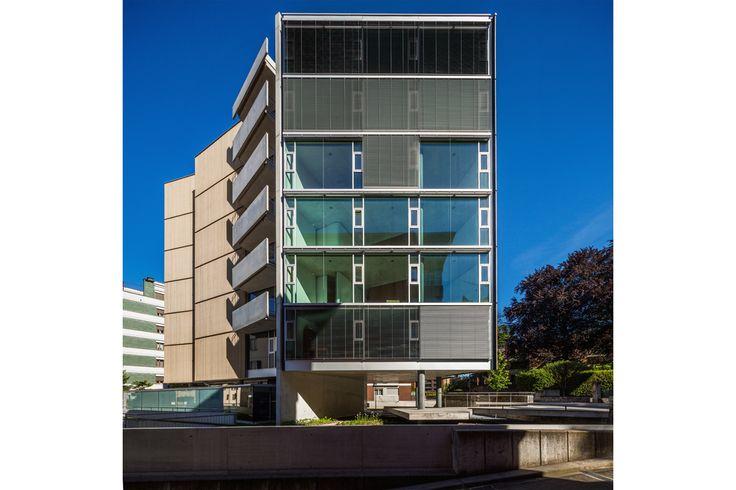 Edifício de apartamentos em Lugano   spbr arquitetos
