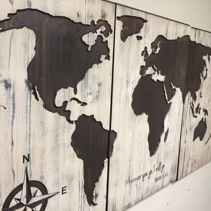 46 best art images on pinterest world maps barn wood and map wall art black beauty by howdyowl world map gumiabroncs Image collections