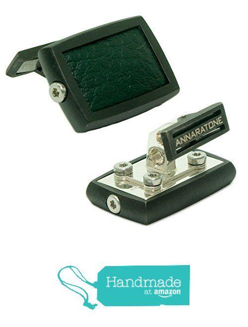 Annaratone Jewelry , Gemelli in Argento 925 , Historic Racing Black Edition Rutenio British Green , Opaco da Annaratone Jewelry https://www.amazon.it/dp/B01LWLOWY4/ref=hnd_sw_r_pi_dp_rar6xbEMNK78G #handmadeatamazon