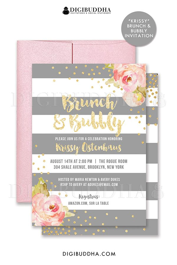 17 Best 1000 images about Digibuddha Bridal Shower Invitations on