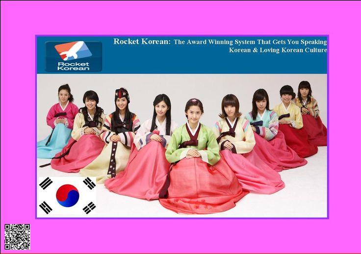 Rocket Korean: The Award Winning System That Gets You Speaking Korean & Loving Korean Culture http://f0761zxauahq4n4hs9y9dd4x1z.hop.clickbank.net/?tid=ATKNP1023