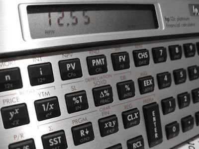 Essenziale Prime: Taxa de desconto do valor futuro, o Shadow account...