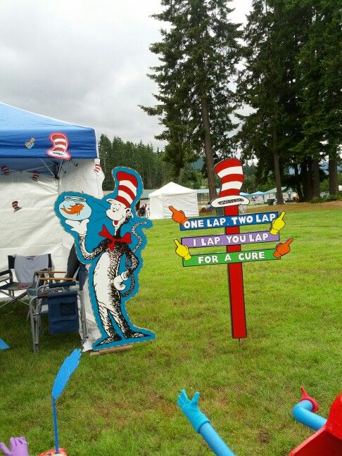 Relay for Life 2013-Port Angeles WA DR. SUESS