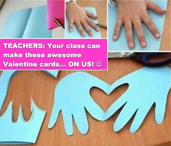 Easy preschool craft for vday party