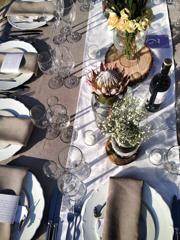 Beautiful tables for a beautiful wedding day