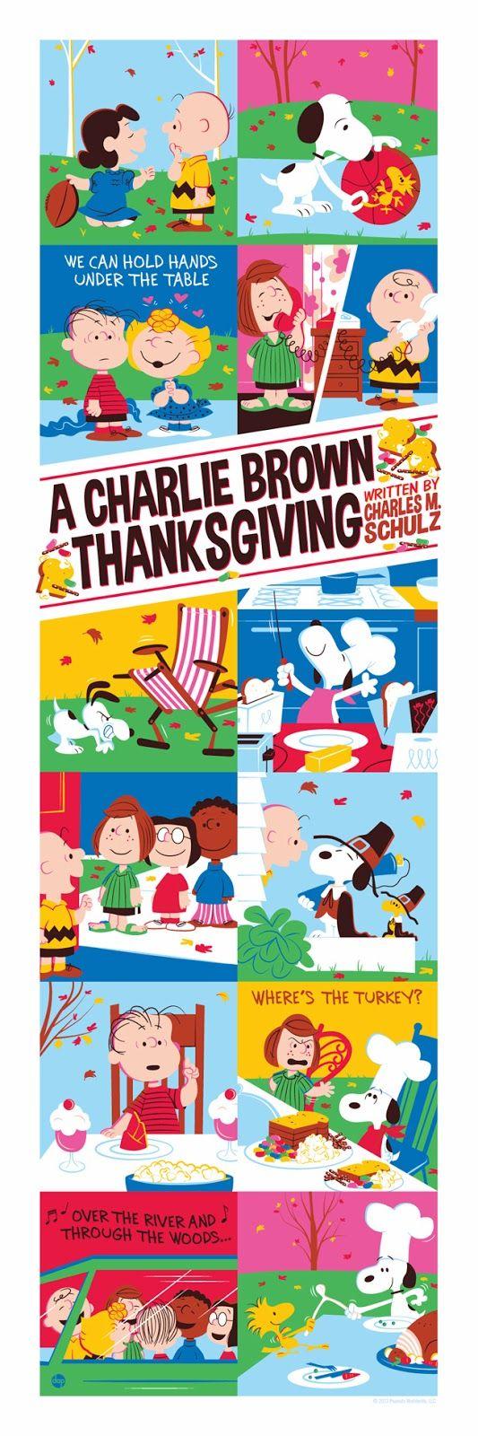 La Acción de Gracias de Charlie Brown
