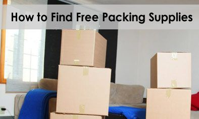 You don't need to buy all the packing supplies. Save time and money by following these suggestions for finding free materials.