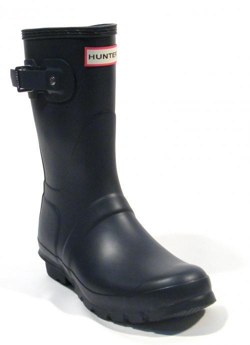 Botas Hunter azules originales modelo Hunter Original short ▻  Compra tus botas de agua Hunter  con ENVÍO 24/48h GRATIS Península