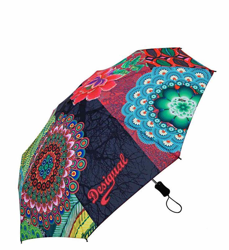 57O56P5_7005 Desigual Umbrella Seduccio, canada