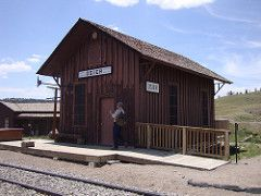 Cumbres and Toltec Scenic Railroad Depot (Osier, Colorado) | by courthouselover