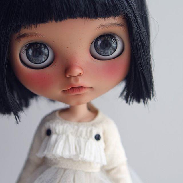 A new tan girl for myself💖🌟✨ #Blythe #customblythe #blythecustom #doll #k07…
