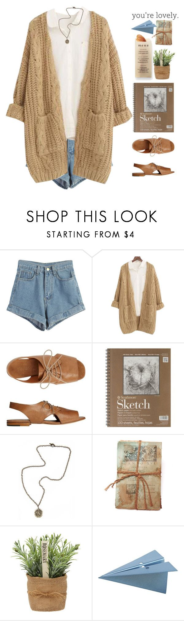 """""""Silbermond-Leichtes Gepäck"""" by holunderbluete ❤ liked on Polyvore featuring WithChic, Chicnova Fashion, Toast, French Kande, GO Home Ltd., Martha Stewart, CB2, women's clothing, women's fashion and women"""