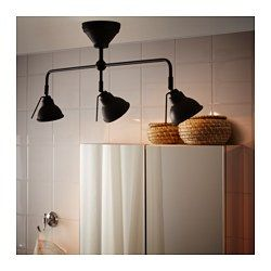VITEMÖLLA Triple ceiling spotlight, metal - - - IKEA