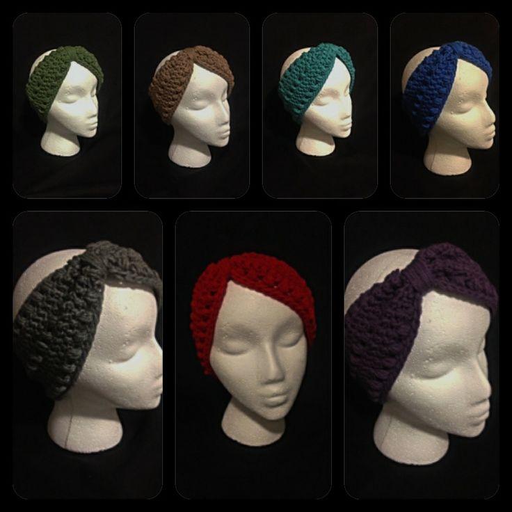 Fall/Winter Collection Turban Headband/ Ear Warmer