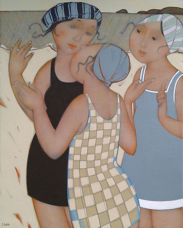 Papotage, Cécile Veilhan, artiste nantaise