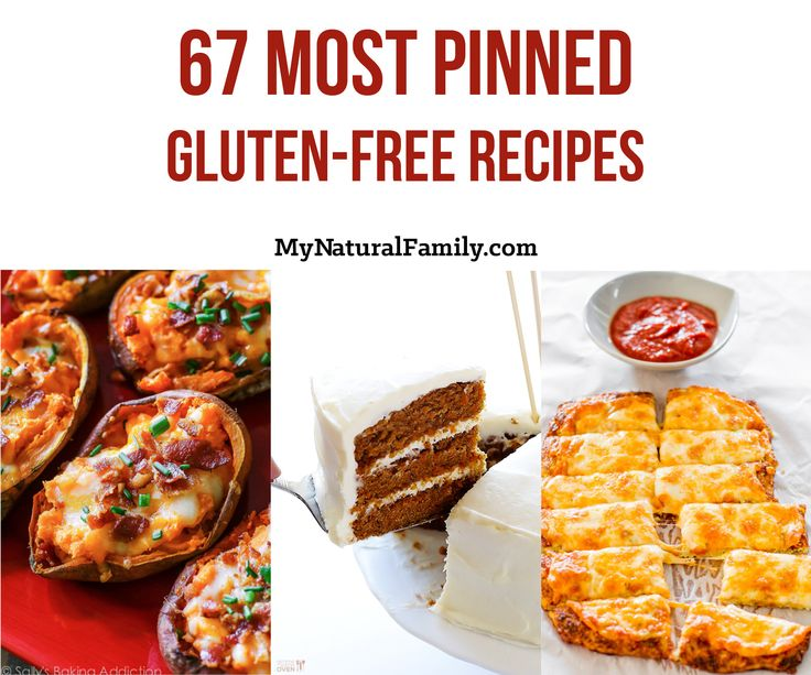 67 most pinned gluten-free Recipes Top