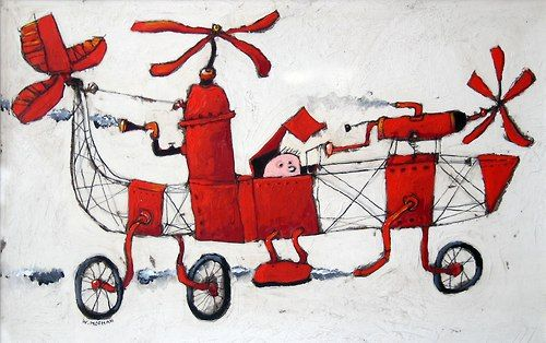 Wim Hofman, Flight