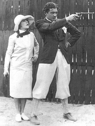Mae and her prince, David Mdivani, fourth husband. (m. 1926–1934)