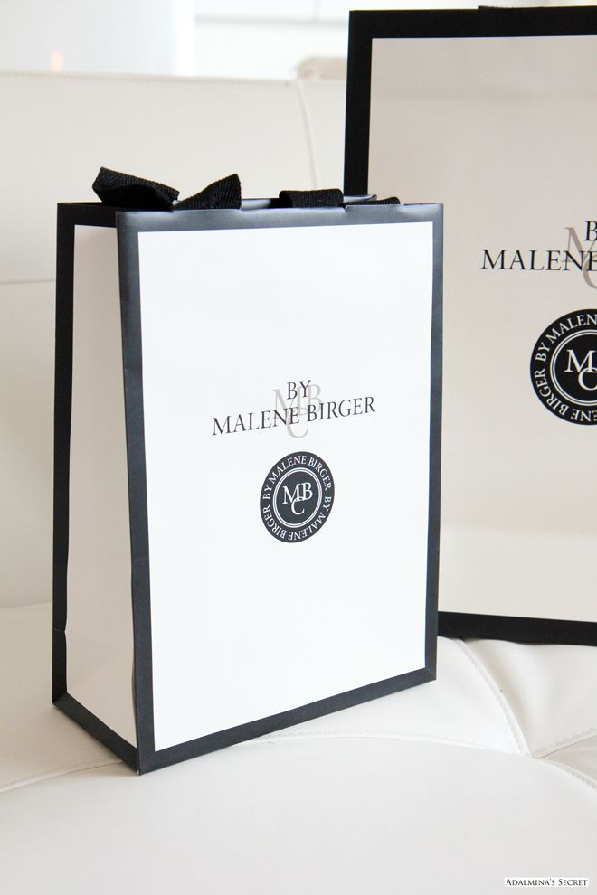 By Malene Birger - Adalmina's Secret #logo #branding #blackandwhite