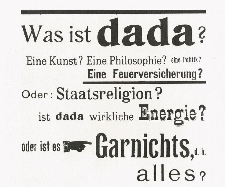 Kunst des Dadaismus – alle Künstler, Literatur und Merkmale – eine Einführung - [ART]