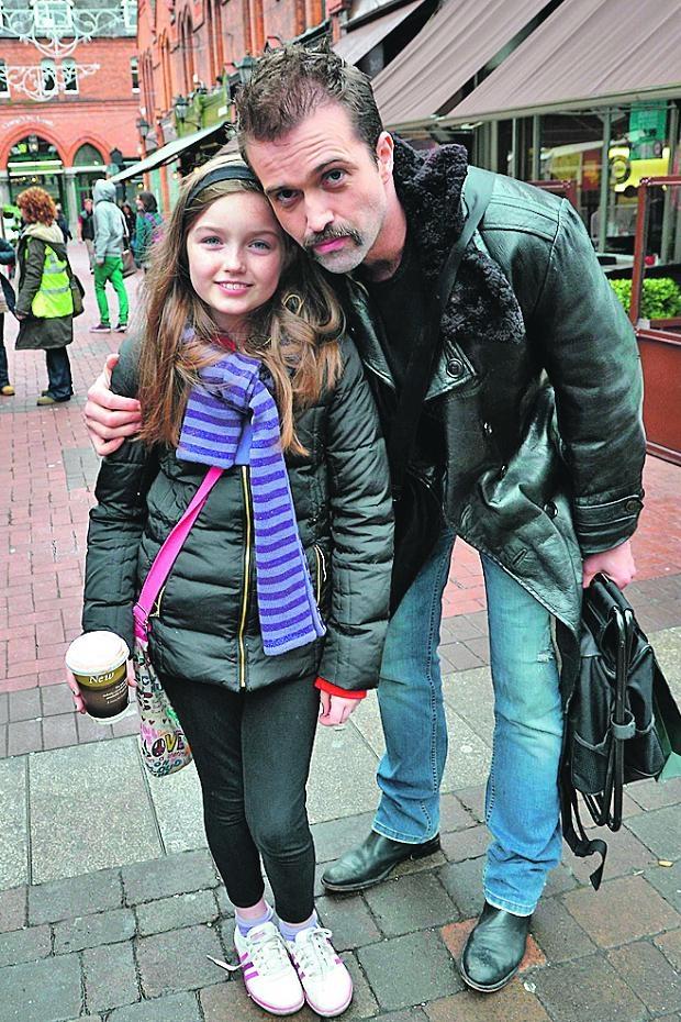 Emmett J Scanlan and daughter Kayla Scanlan | Stendan ...