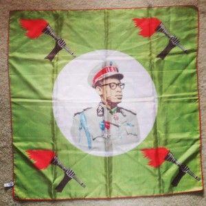 Mobutu Sese Seko, scarfedition