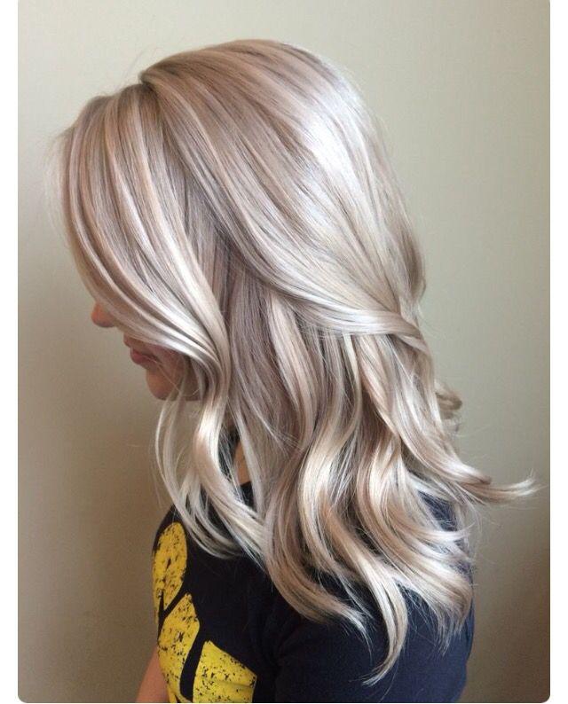Cool blonde tone