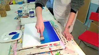 Rendiamo antica una cornice (Fai da Te) - Arte per Te- - YouTube
